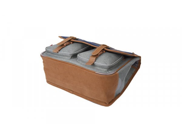 CARTABLE KICKERS BLEU GRIS