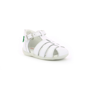 Kickers BIGFLY BLANC METALLISE