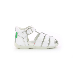 Kickers BIGFLY-2 METALLISED WHITE