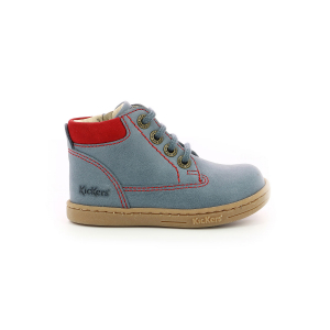 Kickers TACKLAND BLEU ROUGE