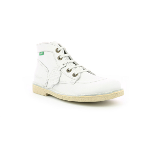 Kickers LEGENDIKNEW WHITE BEIGE SOLE
