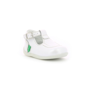Kickers BONBEK-2 METALLISED WHITE