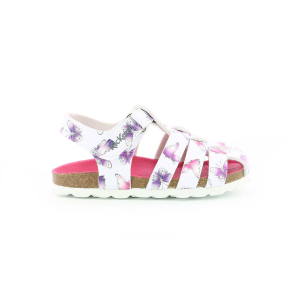 Kickers SUMMERTAN BLANC PAPILLON