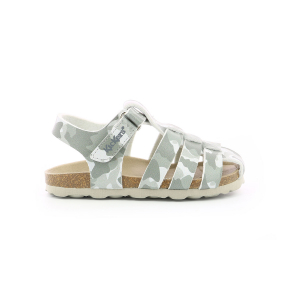 Kickers SUMMERTAN GRIS CAMOUFLAGE
