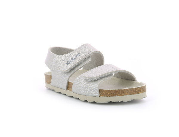 Kickers SUMMERKRO GREY SILVER LEOPARD