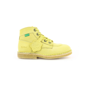 Kickers KICK LEGEND JAUNE CLAIR ENFANT