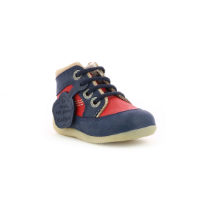 Kickers BIBOY-2 NAVY RED OFF WHITE
