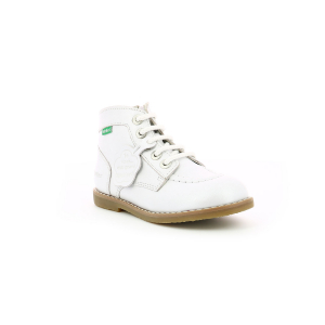 Kickers KOUKLEGEND METALLISED WHITE