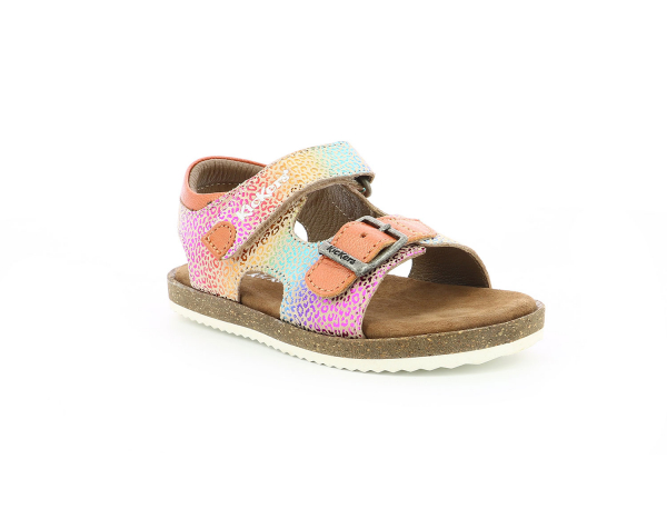 Kickers FUNKYO BEIGE MULTICOLOR LEOPARDO