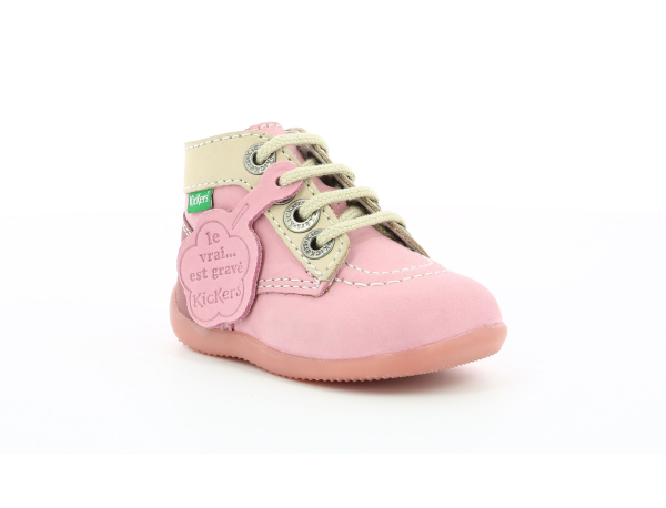 Kickers BONBON ROSE TRICOLORE