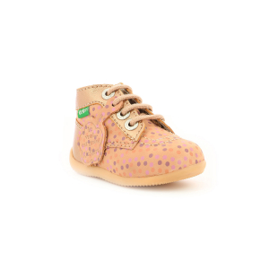 Kickers BONBON ROSE POIS