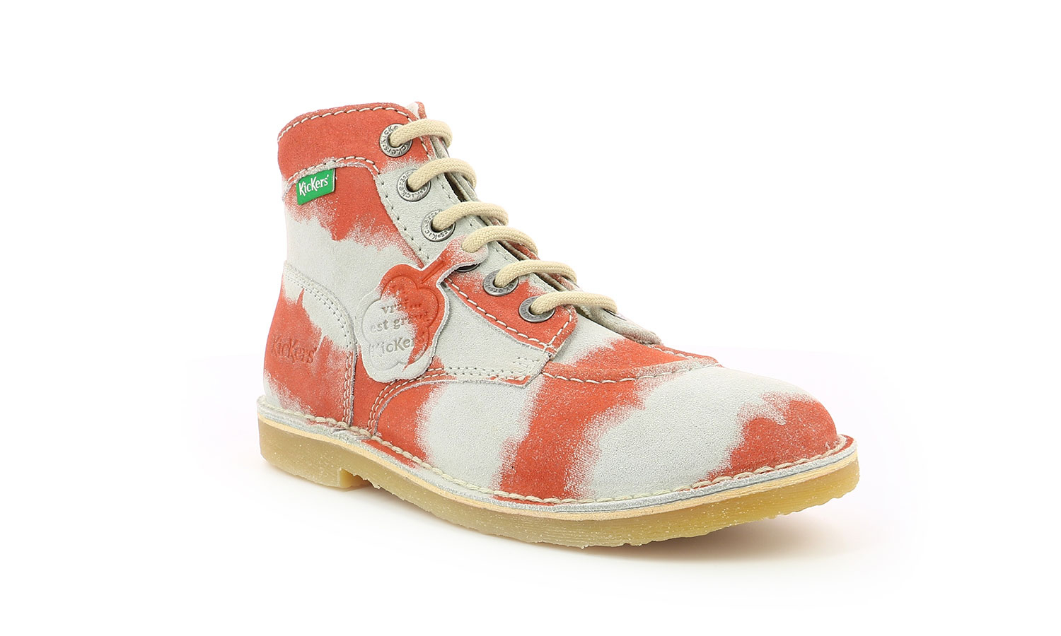 Chaussures Femme ORILEGEND ROSE TIE AND DYE FEMME Kickers