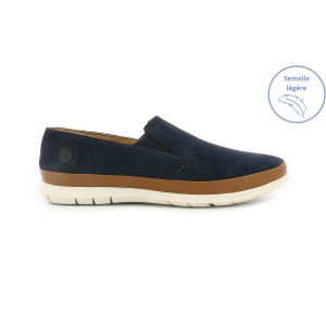 Kickers LAYSTAN NAVY WHITE SOLE