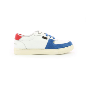 Kickers SNIKLAN WHITE BLUE RED
