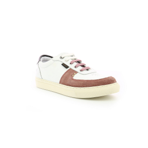Kickers SNIKLAN WHITE PINK BLACK
