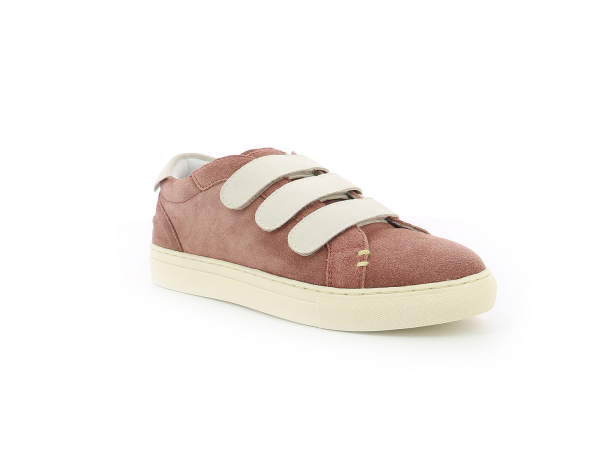 Kickers SNIKVY VIEUX ROSE BLANC
