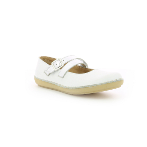 Kickers FAUSTY BLANC ARGENT