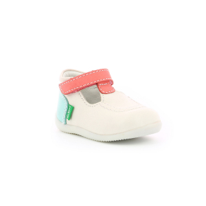Kickers BONBEKRO WHITE PINK BLUE