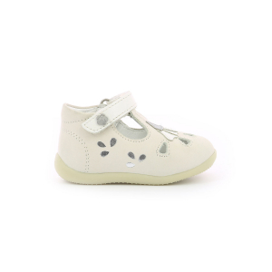 Kickers BLUPINKY BLANC ARGENT