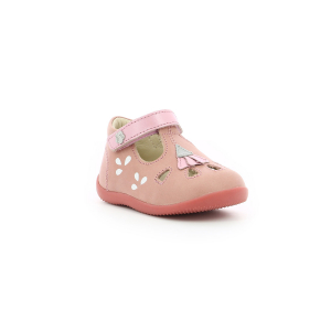 Kickers BLUPINKY LIGHT PINK SILVER