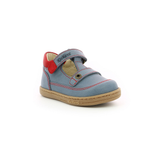 Kickers TACTACK BLEU ROUGE