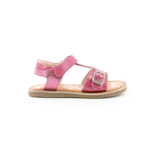Kickers DIAZZ DARK PINK LEOPARD