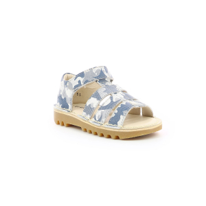 Kickers NEOPY BLUE CAMOUFLAGE