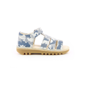 Kickers NEOPY BLEU CAMOUFLAGE