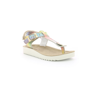 Kickers ODYSSE BEIGE MULTICOLOR LEOPARDO