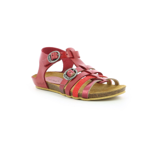 Kickers BOBBAN METALLISED RED