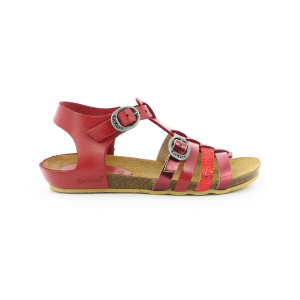Kickers BOBBAN ROUGE METALLISE