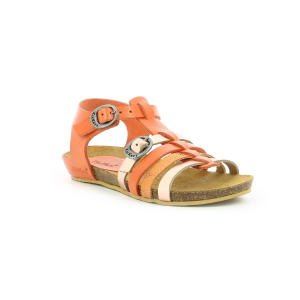 Kickers BOBBAN METALLISED LIGHT ORANGE