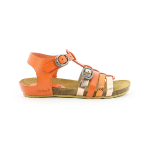 Kickers BOBBAN ORANGE CLAIR METALLISE