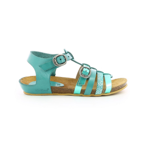 Kickers BOBBAN METALLISED TURQUOISE