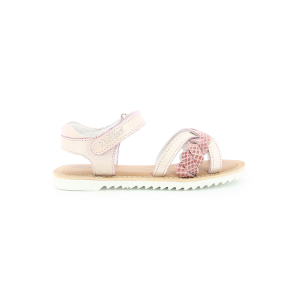 Kickers SHARKKY BEIGE ROSE REPTILE