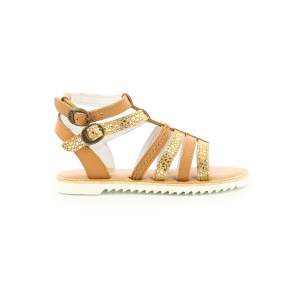 Kickers SHASTYL BROWN CAMEL LEOPARD