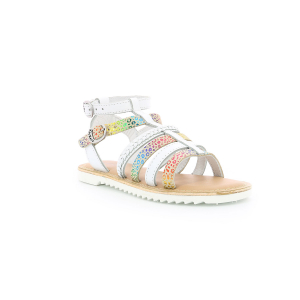 Kickers SHASTYL BLANCO MULTICOLOR LEOPARDO