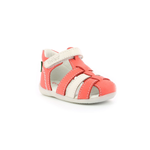 Kickers BIGFLO ROSE BLANC