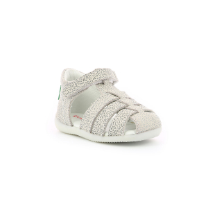 Kickers BIGFLO BLANCO LEOPARDO