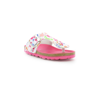 Kickers SUMMERIZA BLANC IMPRIME MULTICOLOR