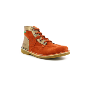 Kickers LEGENDIKNEW RUST ORANGE BRONZE