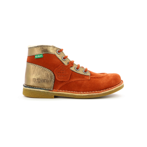 Kickers LEGENDIKNEW ORANGE ROUILLE BRONZE