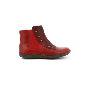 Kickers HAPPLI ROUGE BORDEAUX