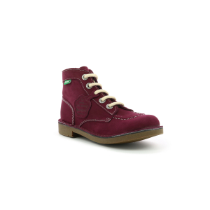 Kickers KICK COL BURGUNDY