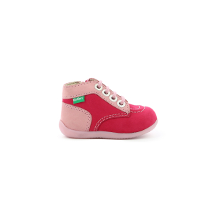 Kickers BONZIP-2 ROSE BICOLORE