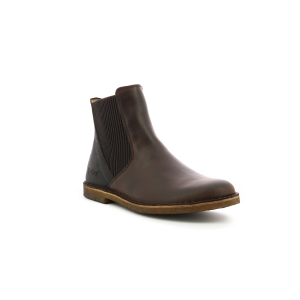 Kickers TINTO MARRON FONCE