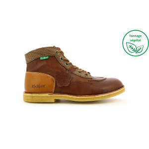 Kickers KICK LEGEND MARRON FONCE CAMEL