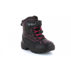 Kickers JUMP WPF NOIR ROSE BRILLANT