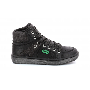 Kickers LOWELL NOIR BRILLANT