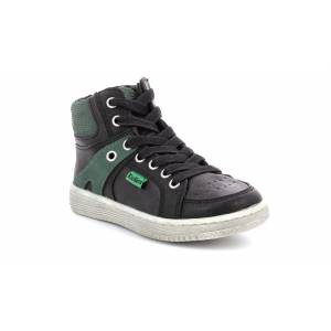 Kickers LOWELL BLACK GREEN